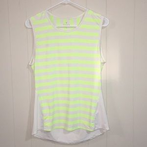 Athleta Striped Muscle Tee Size S
